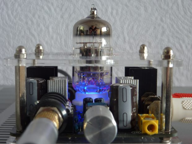The tube component in an analogue tube preamp