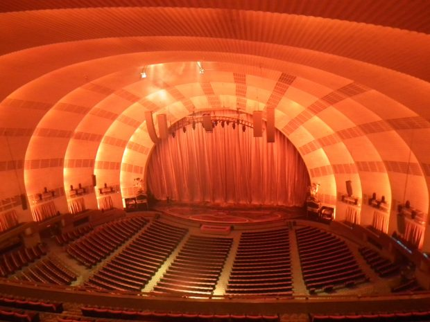 Radio City Music Hall Stage with a large hall reverb