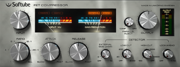 One of many FET style audio compressors