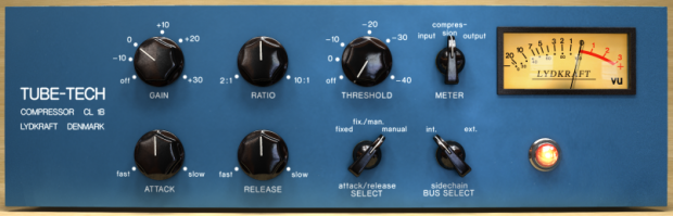 One of many OPTO audio compressors