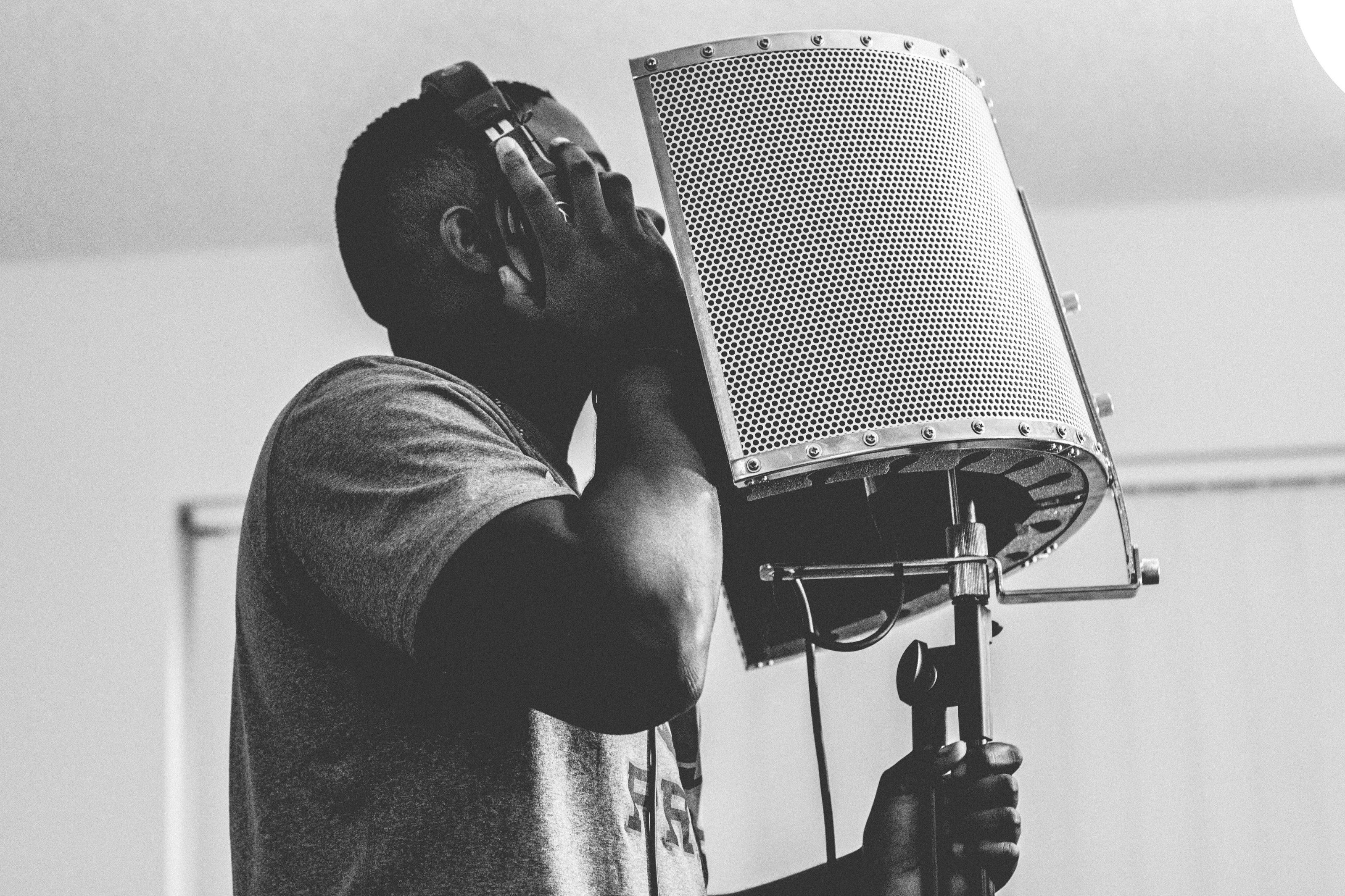 Record rap vocals