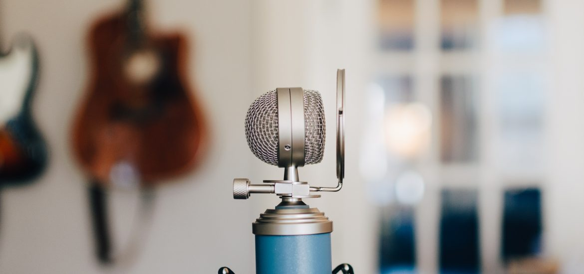 A Blue condenser, perfect for a first microphone