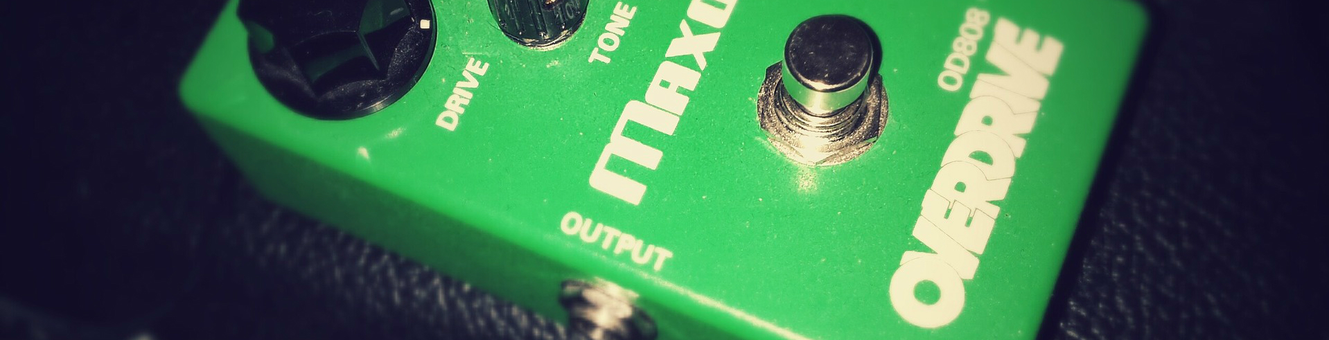 An overdrive guitar pedal