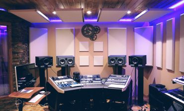 Acoustic room treatment in a control room environment