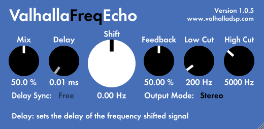 free plugins for mac valhalla freqecho