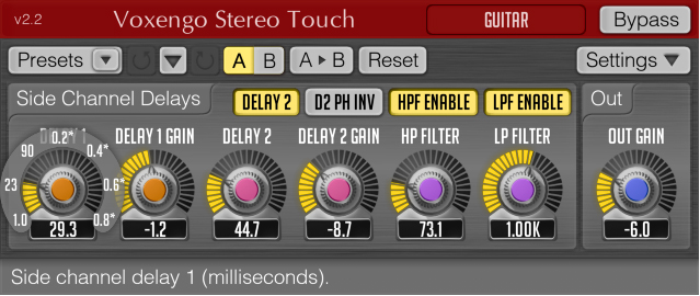 free plugins for mac stereo touch