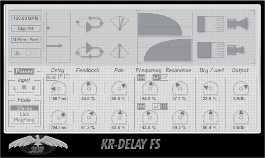 free plugins for mac kr-delay fs