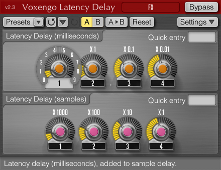 free plugins for mac latency delay