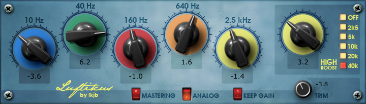 The Luftikus, oen of our free VST plugins