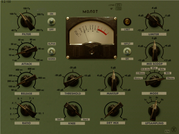 The Molot compressor
