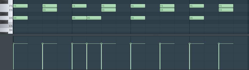 Rigid MIDI data on a grid