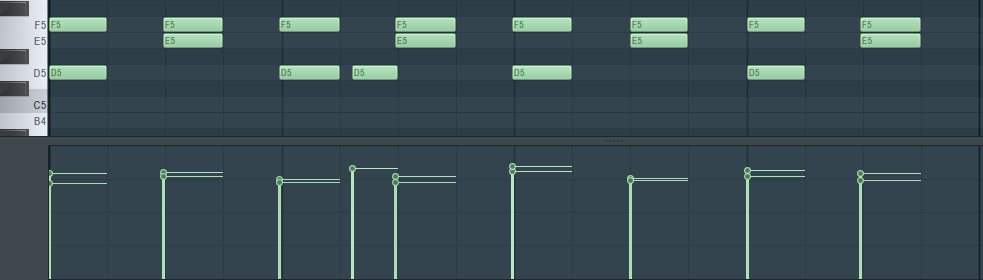 Programming drums with velocity changes makes a big difference