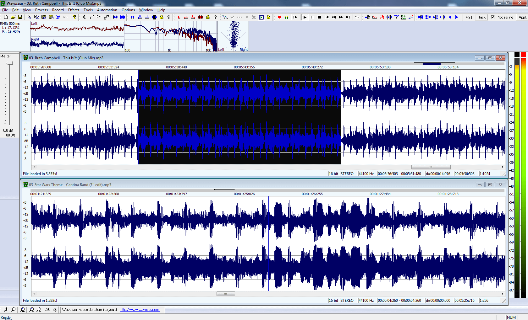 wavosaur audio editing