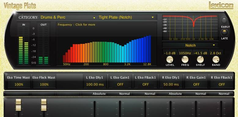 vocal plugins lexicon reverb