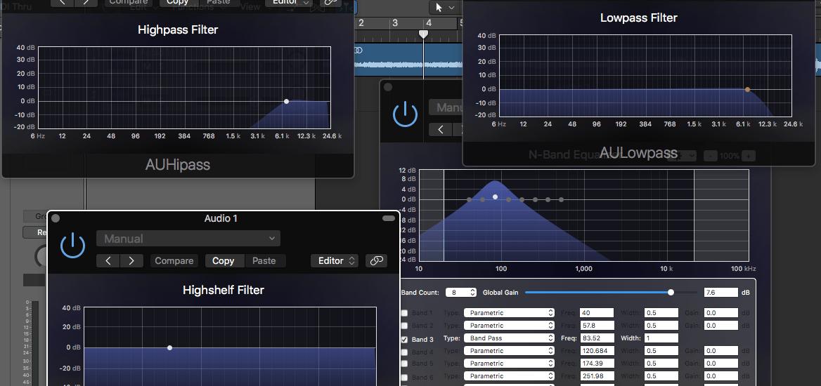 filter types