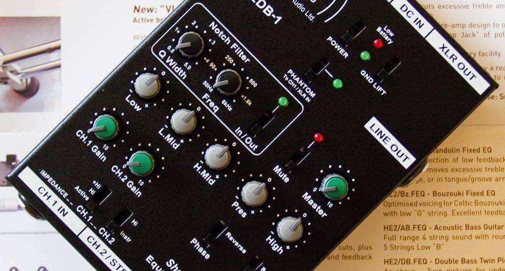 home studio equipment preamp
