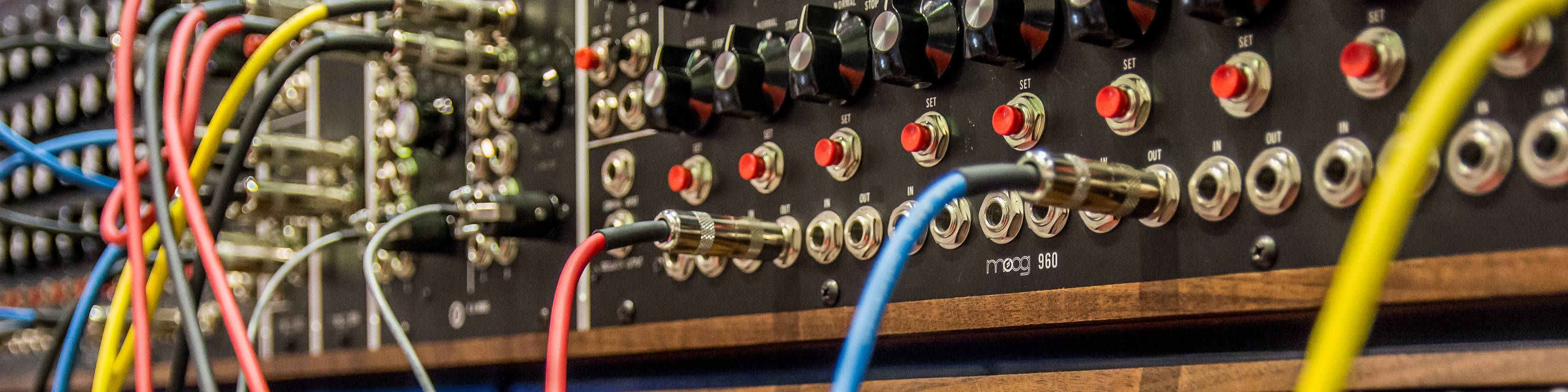 A modular wall mounted synthesiser that can be condensed into a simple bass VST