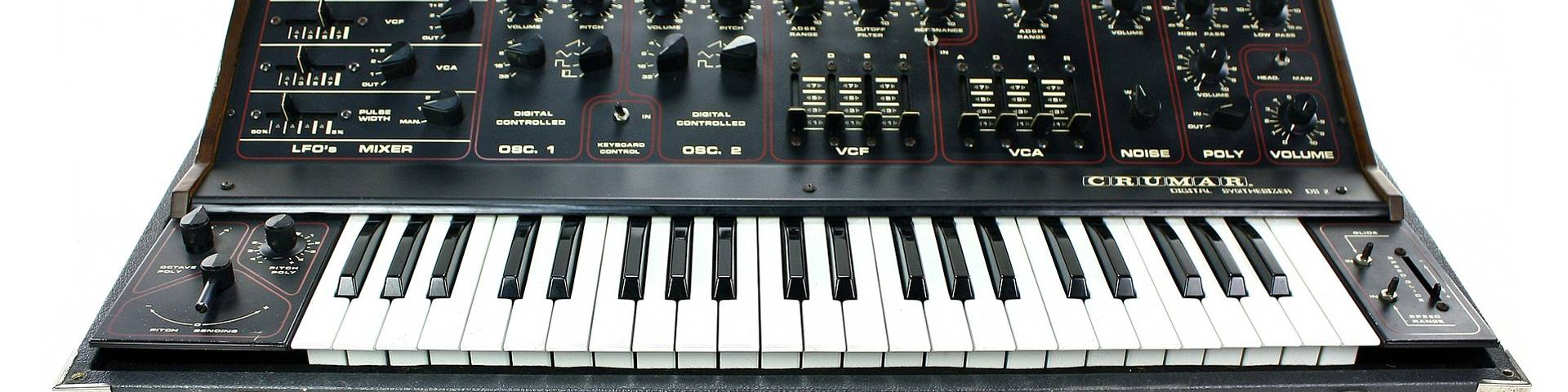 A retro digital synthesiser