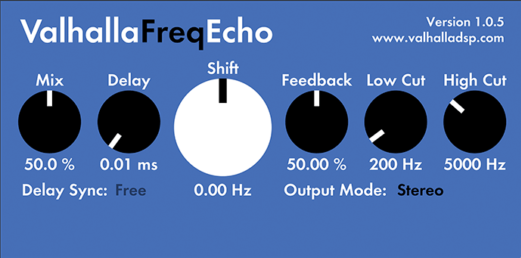 delay plugins freqecho