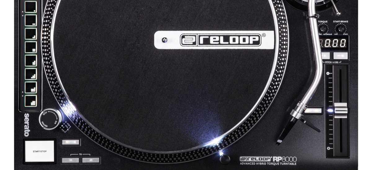 Reloop RP8000 DJ Turntable