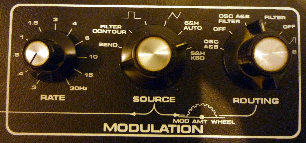 audio synthesizers modulation