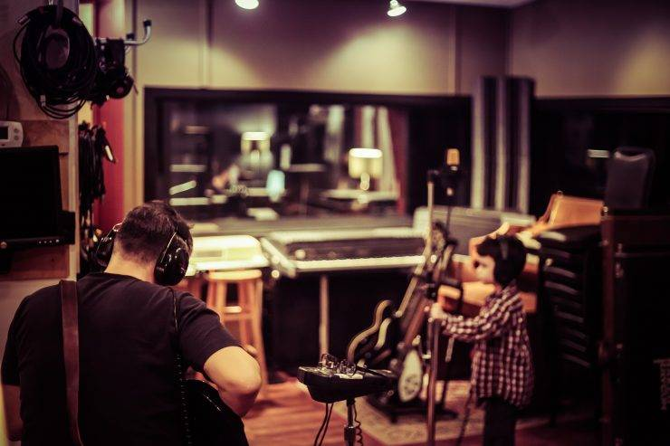 fixing a recording