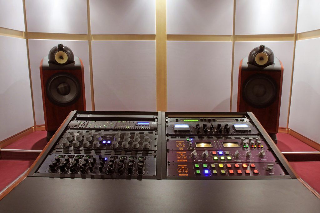 History of Mastering: Hardware Digital Mastering Studio