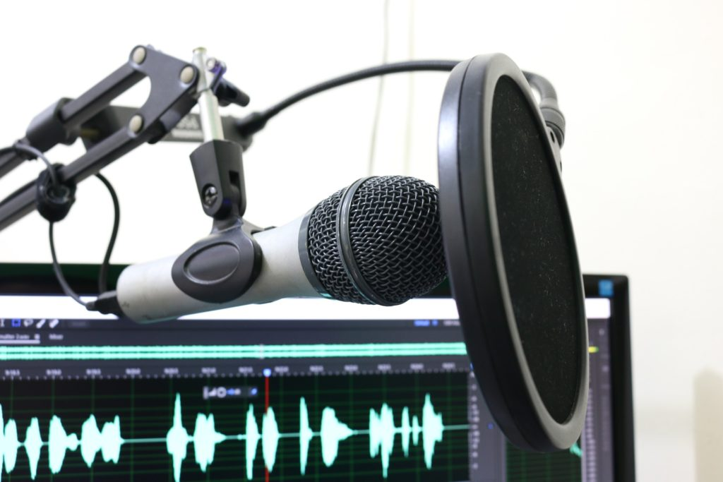 Music production tips: Use a microphone with a pop filter